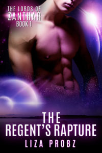 BK1 The Regent's Rapture E-Book Cover