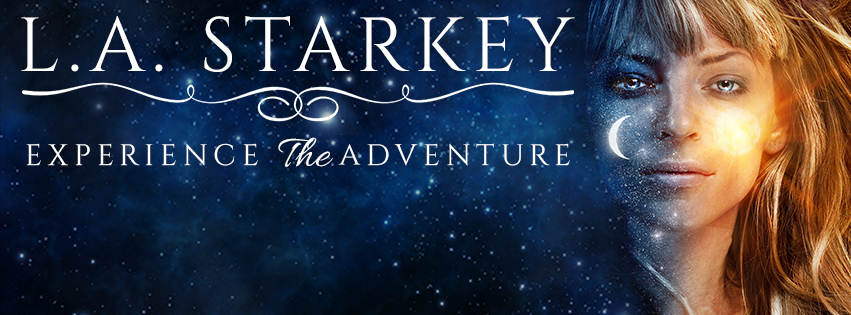 L.A. Starkey Facebook Cover Art
